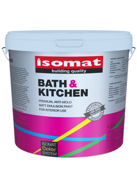 ISOMAT BATH & KITCHEN WHITE 10L