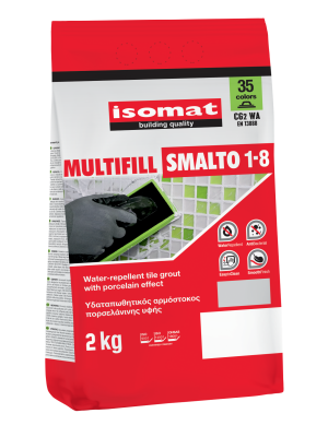 MULTIFILL SMALTO 1-8 WHITE, 2KG